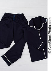Black sleepwear set for boys
