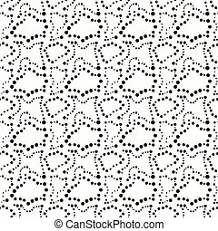 black small circles seamless pattern graffiti