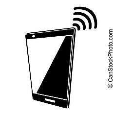 Smartphone and radio wi fi