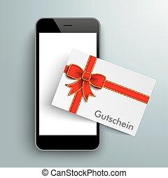 Black Smartphone Gutschein