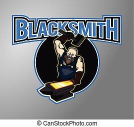 Black smith illustration