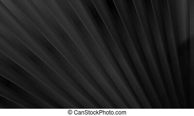 Black smooth glossy stripes abstract tech video animation - ...