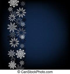 black snow background
