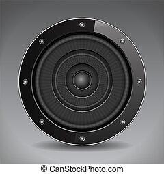 Black Sound Speaker