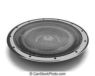 Bass Speaker Clip Art