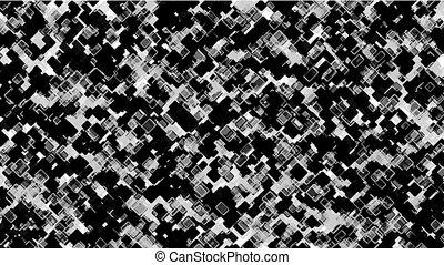 black square block mosaics,computer chip board,math...