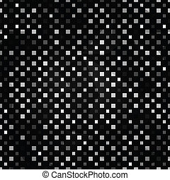black squares seamless pattern