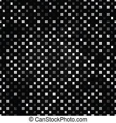 black squares seamless pattern