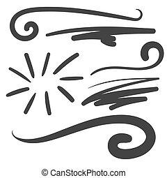 Black squiggle swoosh text font tail - baseball tshirt...