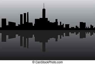 black , stad
