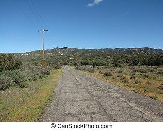 Black Star Canyon Road