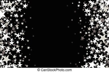 Black starry background. - Black starry background with...