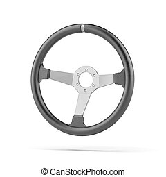 Black Steering Wheel