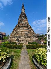 Black Stupa in Vientine, Laos