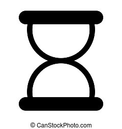 Black symbol loading icon design