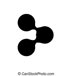 Black symbol share icon image