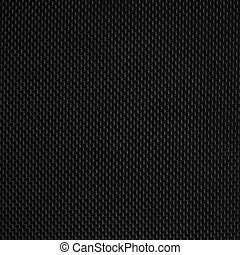 Black synthetic fabric texture background pattern