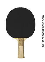 Black table tennis racket