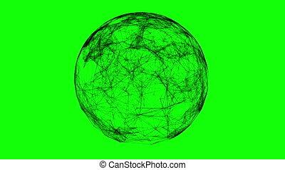 Black technology sphere