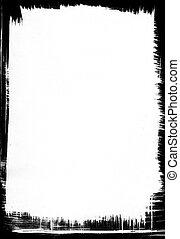 Black Textured Frame