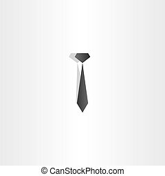 black tie icon vector design
