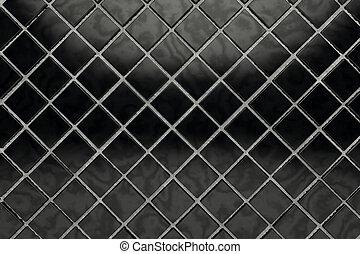 Black tile - Black shiny tile surface background