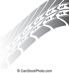 black tire track design for your transportation website