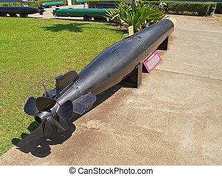 Black Torpedo Displayed at Pearl Ha - Black torpedo ...