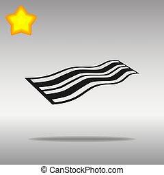 black Towel Icon button logo symbol concept high quality