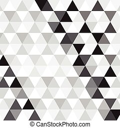 black triangle pattern background