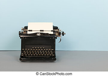 black , typemachine