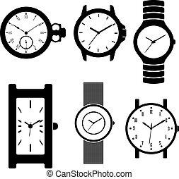 Black vector clock