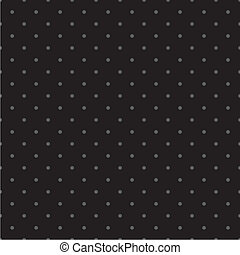 Black vector polka dots background