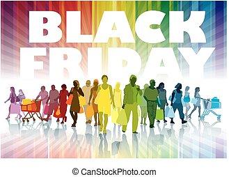 black , vrijdag, shoppen