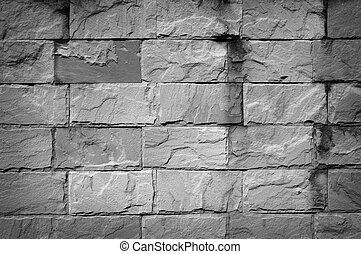 Black wall stone background
