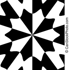 black white abstract