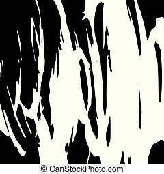 black white abstract graffiti style pattern for your design
