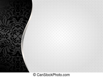 white background  - black white background with pattern