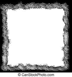 Black & White Border