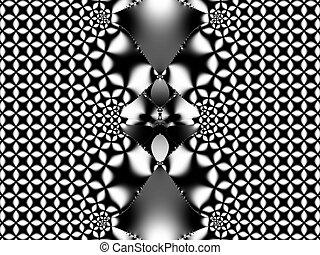 Black & white graphic