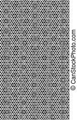 Black white halftone background