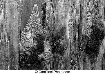 black & white old wooden wall background