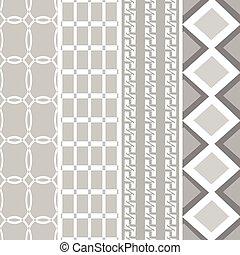black white pattern style