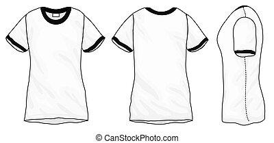 Black White Hoodie Sweatshirt Design Template Vector Illustration - Sweatshirt design template