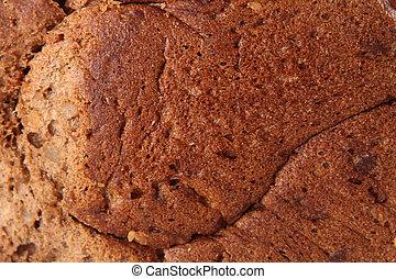 Black Whole-grain bread