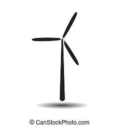 black wind generator