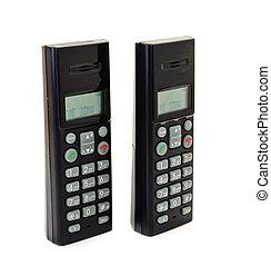 Black wireless phones