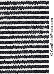 black , witte lijnen, weefsel