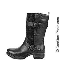 Black woman boot