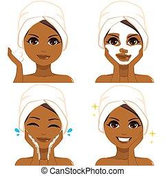 Black Woman Skin Care Routine